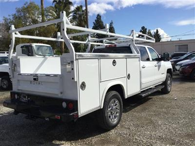 2019 Silverado 2500 Crew Cab 4x2,  Royal Service Body #C158755 - photo 2