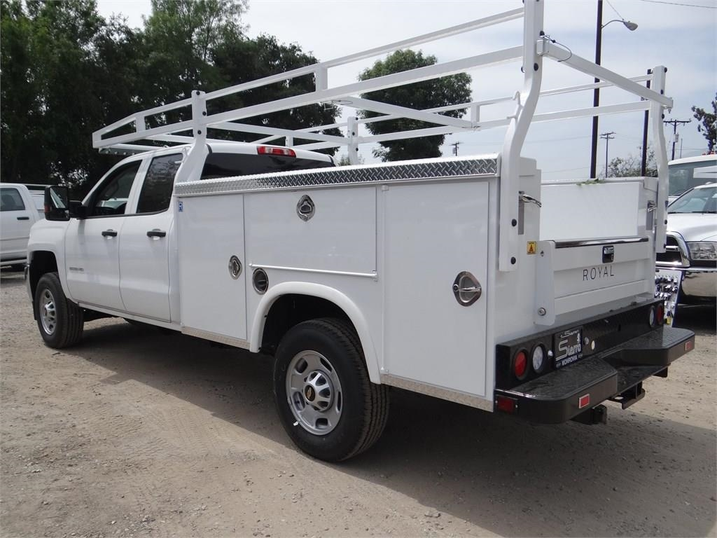 2019 Silverado 2500 Double Cab 4x2,  Royal Service Body #C158809 - photo 4
