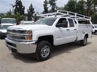 2019 Silverado 2500 Double Cab 4x2,  Royal Service Body #C158809 - photo 5