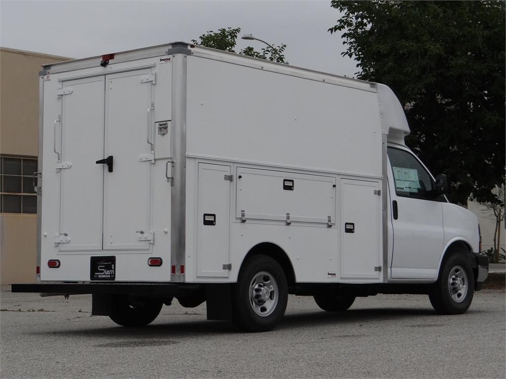 2019 Express 3500 4x2,  Supreme Service Utility Van #C159005 - photo 1
