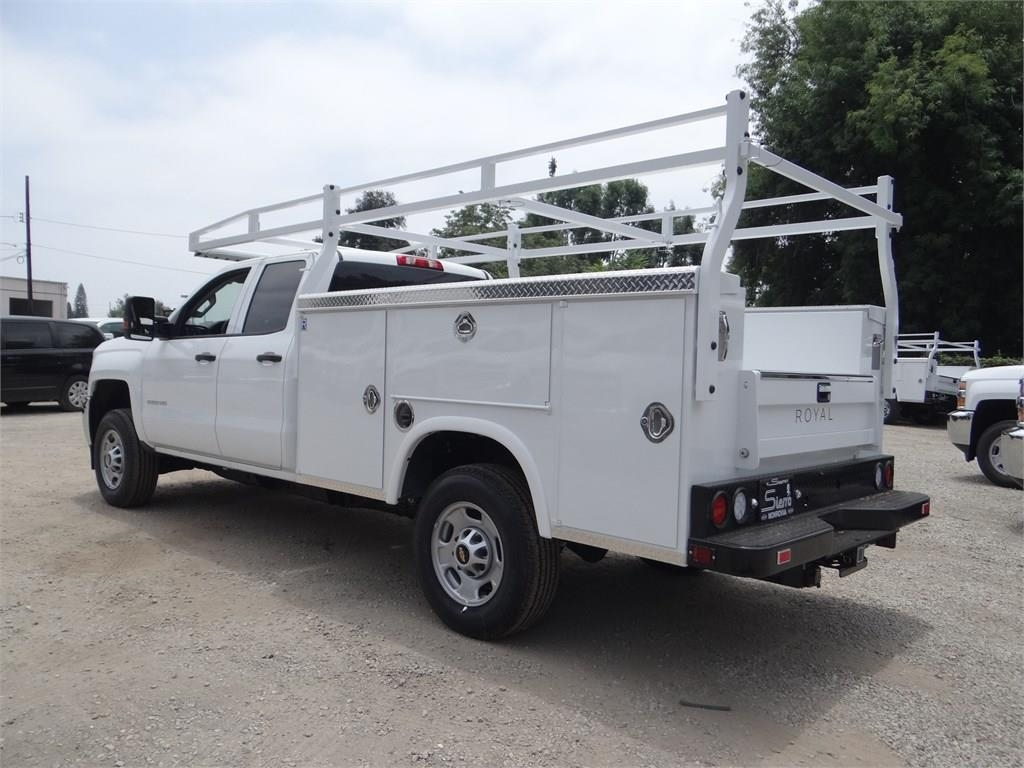2019 Silverado 2500 Double Cab 4x2,  Royal Service Body #C159181 - photo 3