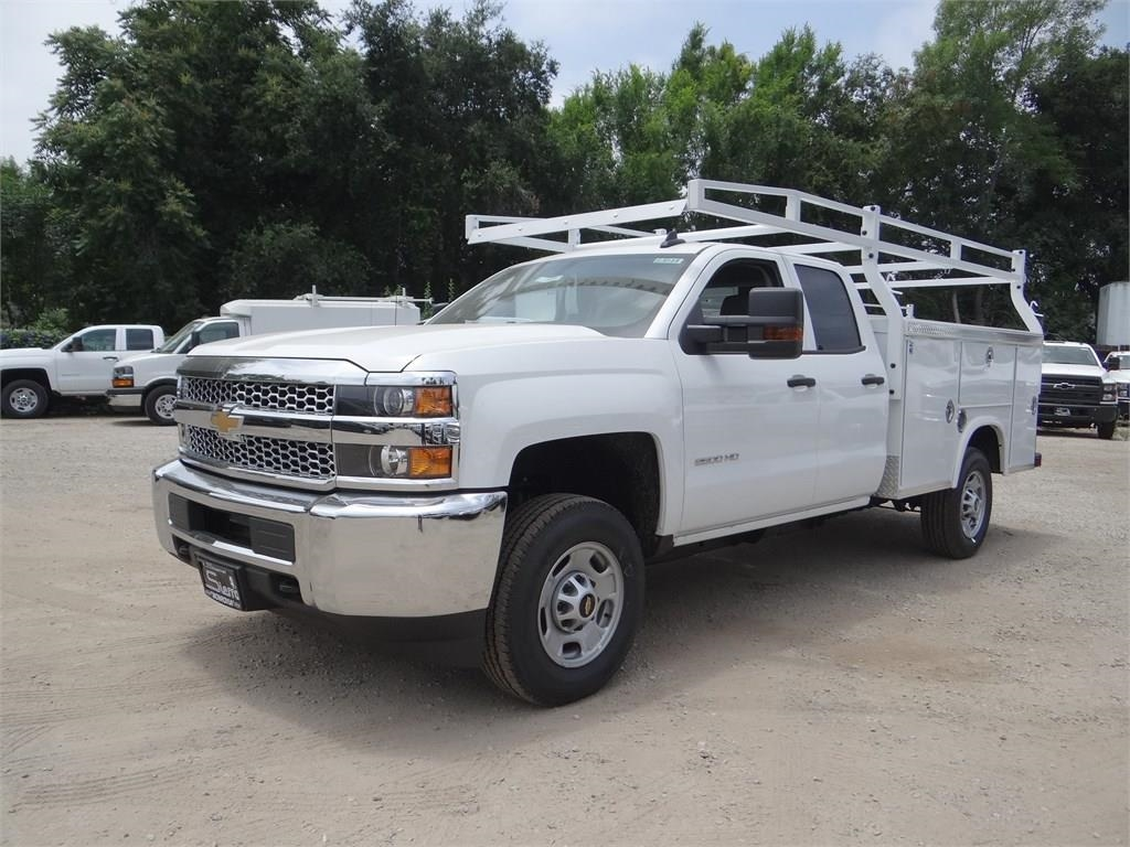 2019 Silverado 2500 Double Cab 4x2,  Royal Service Body #C159181 - photo 4