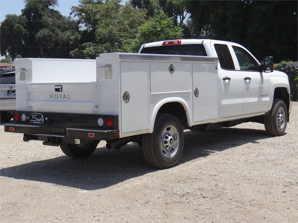 2019 Silverado 2500 Double Cab 4x2, Royal Service Body #C159257 - photo 1