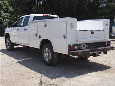 2019 Silverado 2500 Double Cab 4x2,  Royal Service Body #C159258 - photo 3