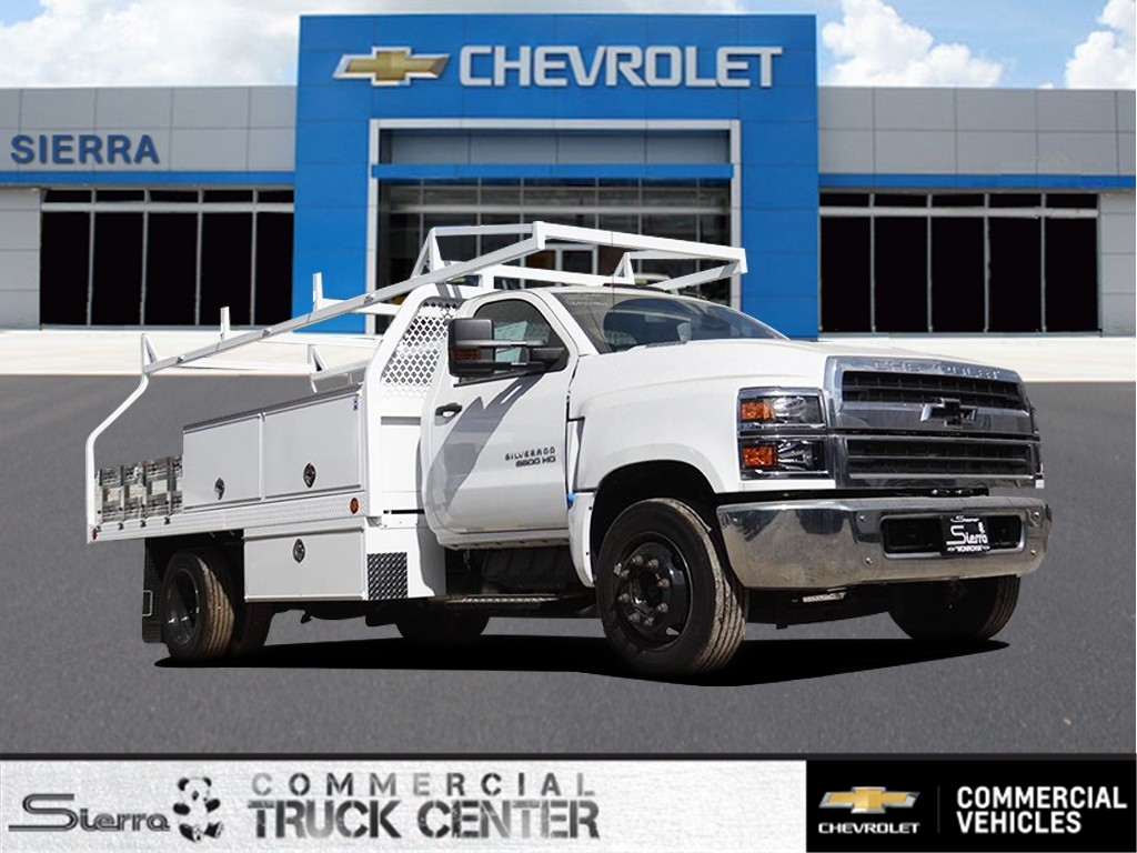 2019 Silverado 5500 Regular Cab DRW 4x2, Royal Contractor Body #C159283 - photo 1