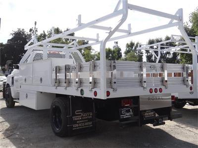 2019 Silverado Medium Duty 4x2,  Royal Contractor Body #C159283 - photo 2