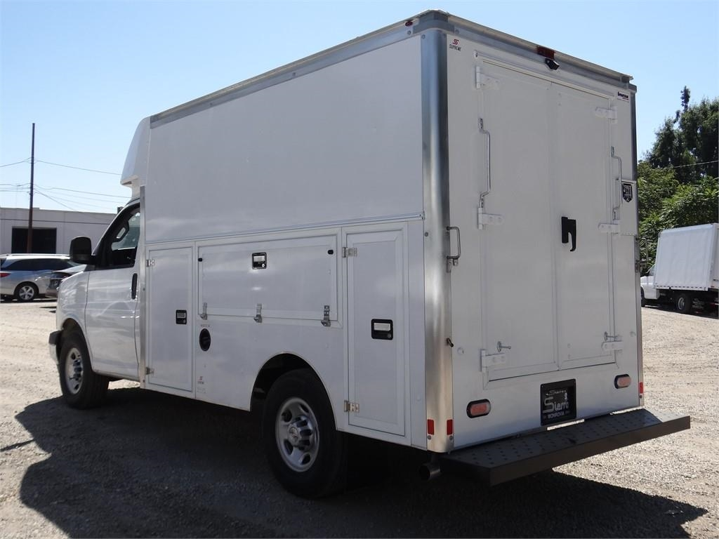 2019 Express 3500 4x2, Supreme Spartan Service Utility Van #C159362 - photo 2