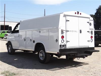 2019 Express 3500 4x2,  Royal RSV Service Utility Van #C159481 - photo 2