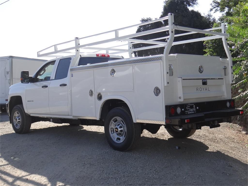2019 Silverado 2500 Double Cab 4x2,  Royal Service Body #C159529 - photo 2