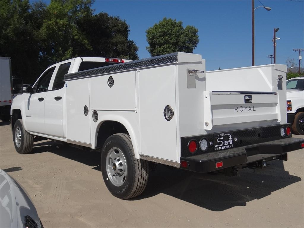 2019 Silverado 2500 Double Cab 4x2, Royal Service Body #C159532 - photo 1