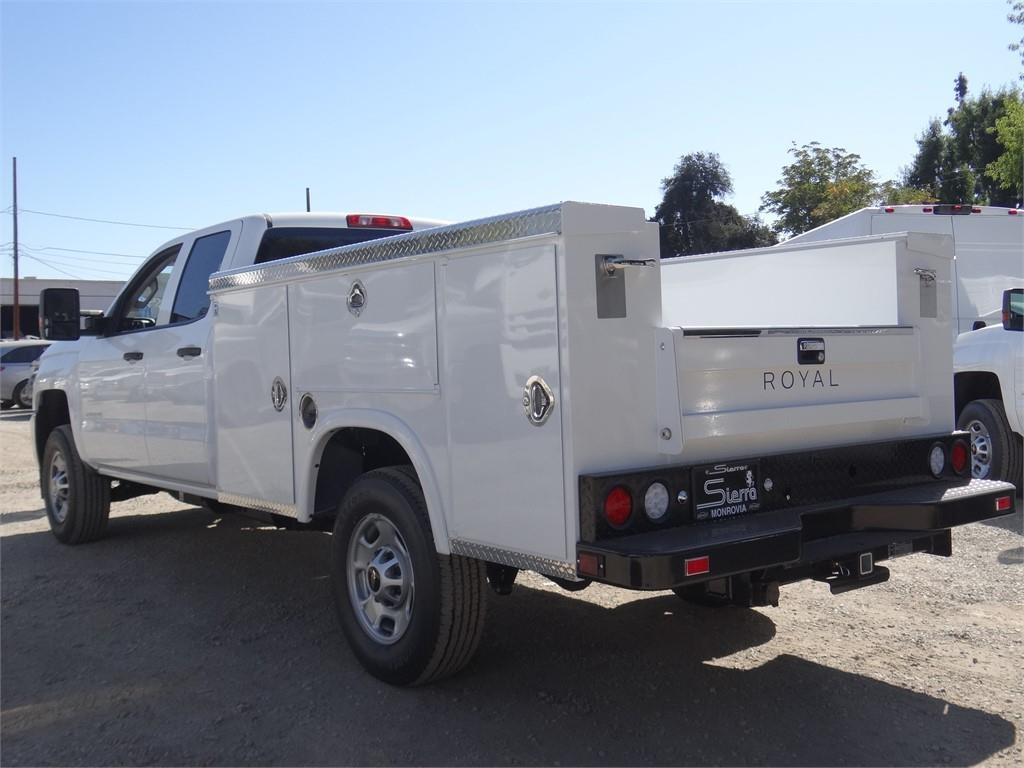 2019 Silverado 2500 Double Cab 4x2, Royal Service Body #C159542 - photo 1