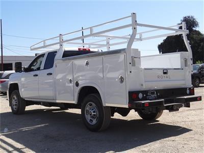 2019 Silverado 2500 Double Cab 4x2,  Royal Service Body #C159544 - photo 2