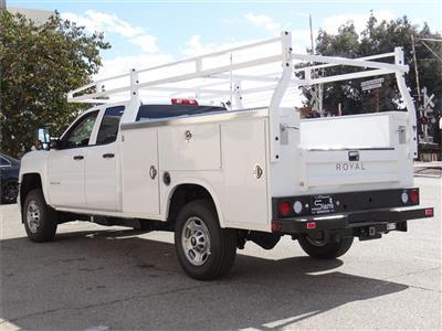 2019 Silverado 2500 Double Cab 4x2, Royal Service Body #C159554 - photo 2