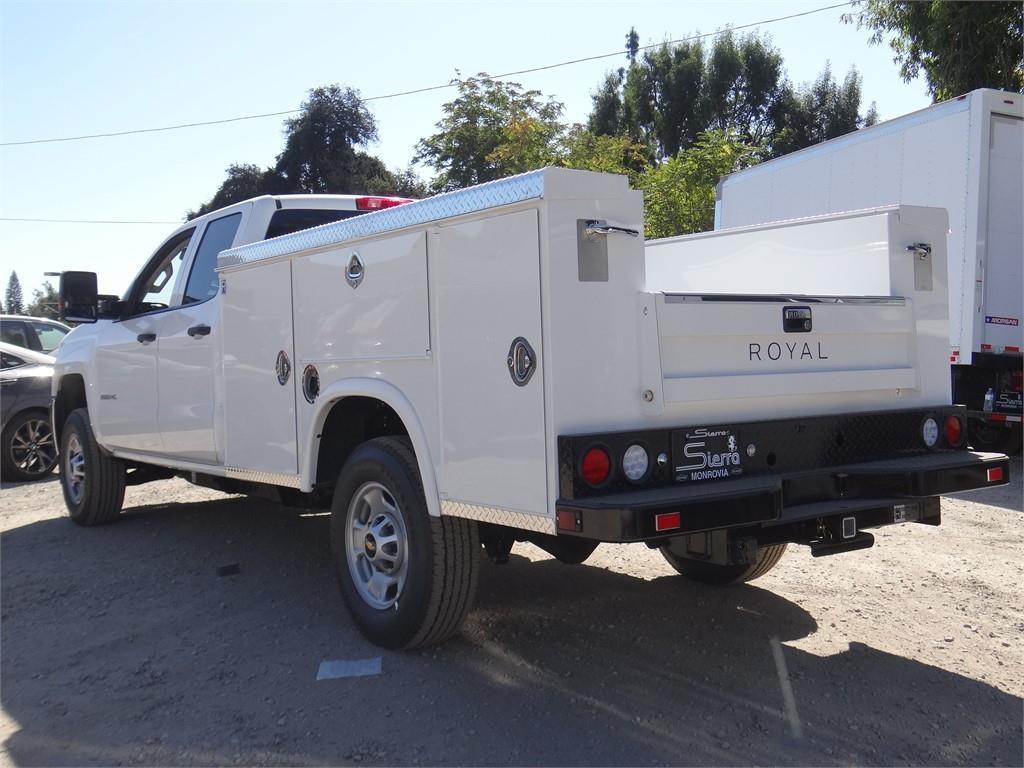 2019 Silverado 2500 Double Cab 4x2, Royal Service Body #C159556 - photo 1
