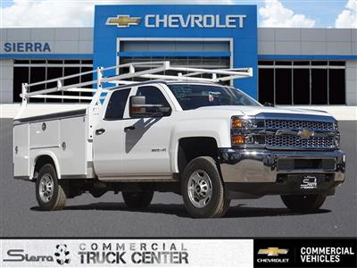 2019 Silverado 2500 Double Cab 4x2, Royal Service Body #C159601 - photo 1