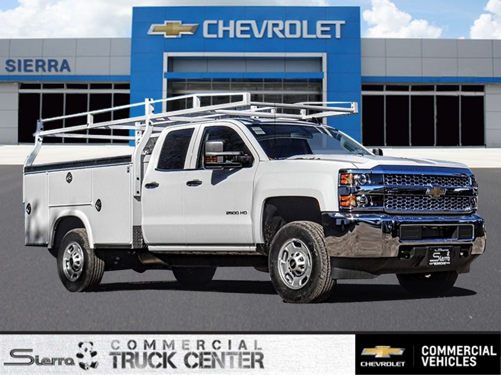 2019 Silverado 2500 Double Cab 4x2, Royal Service Body #C159602 - photo 1