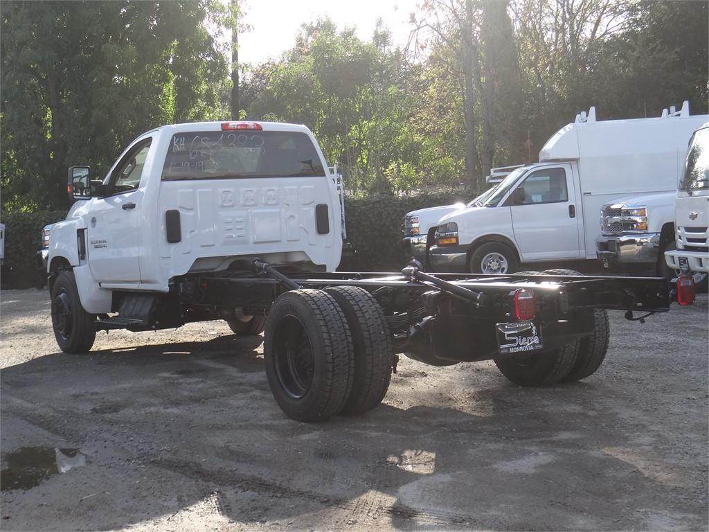 2019 Silverado 5500 Regular Cab DRW 4x2, Cab Chassis #C159670 - photo 1