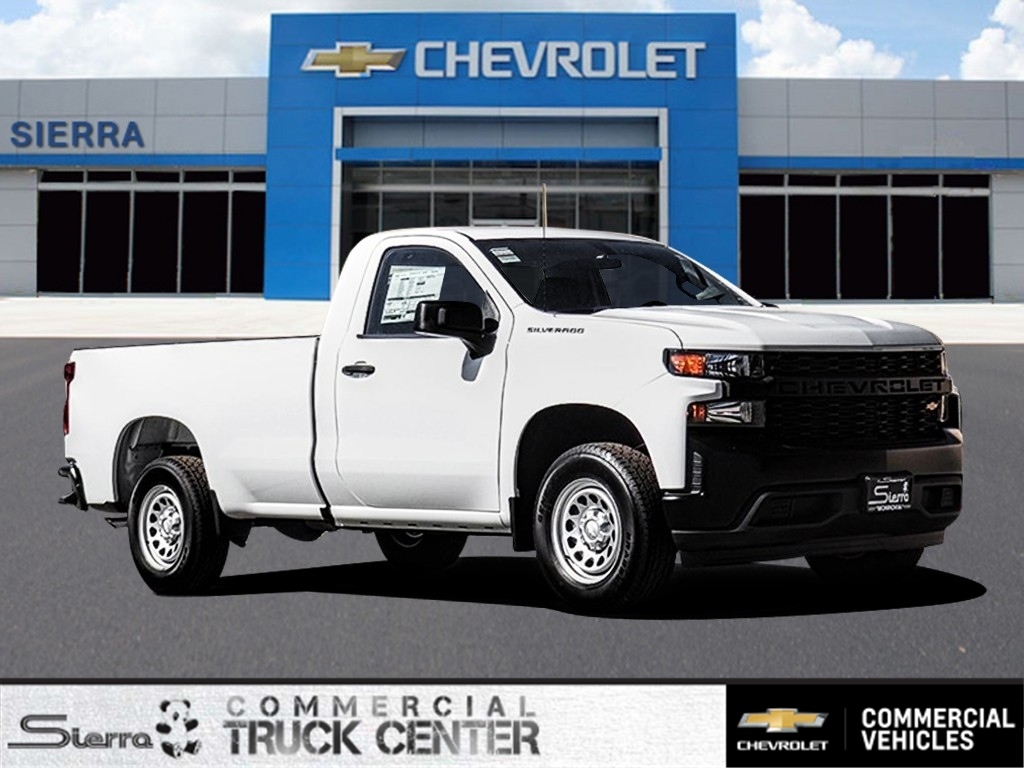 2020 Chevrolet Silverado 1500 Regular Cab 4x2, Pickup #C159719 - photo 1