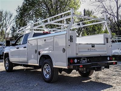 2019 Silverado 2500 Double Cab 4x2, Royal Service Body #C159824 - photo 2