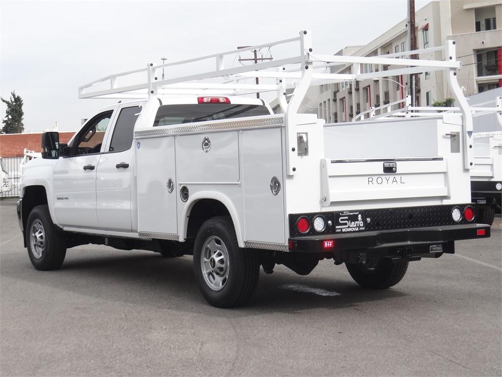 2019 Silverado 2500 Double Cab 4x2, Royal Service Body #C159826 - photo 1