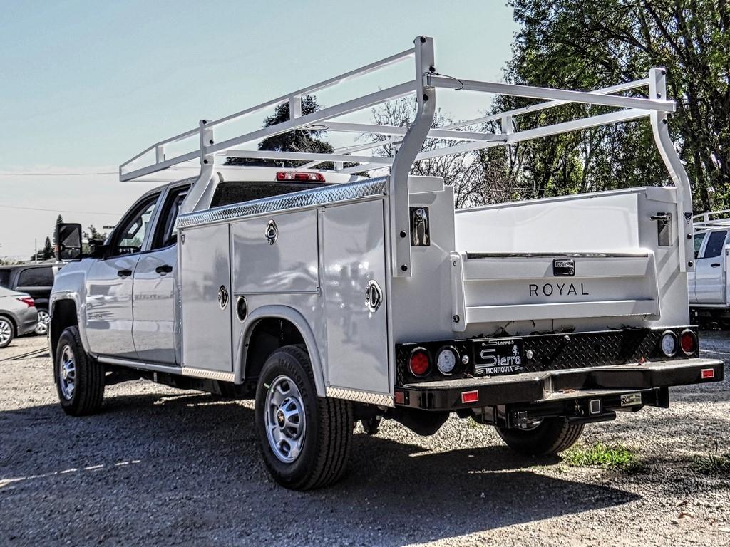 2019 Silverado 2500 Double Cab 4x2, Royal Service Body #C159831 - photo 1
