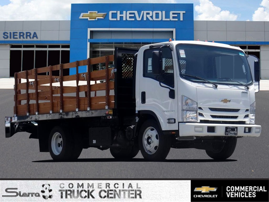 2020 Chevrolet LCF 5500HD Regular Cab 4x2, Metro Truck Body Stake Bed #C159846 - photo 1