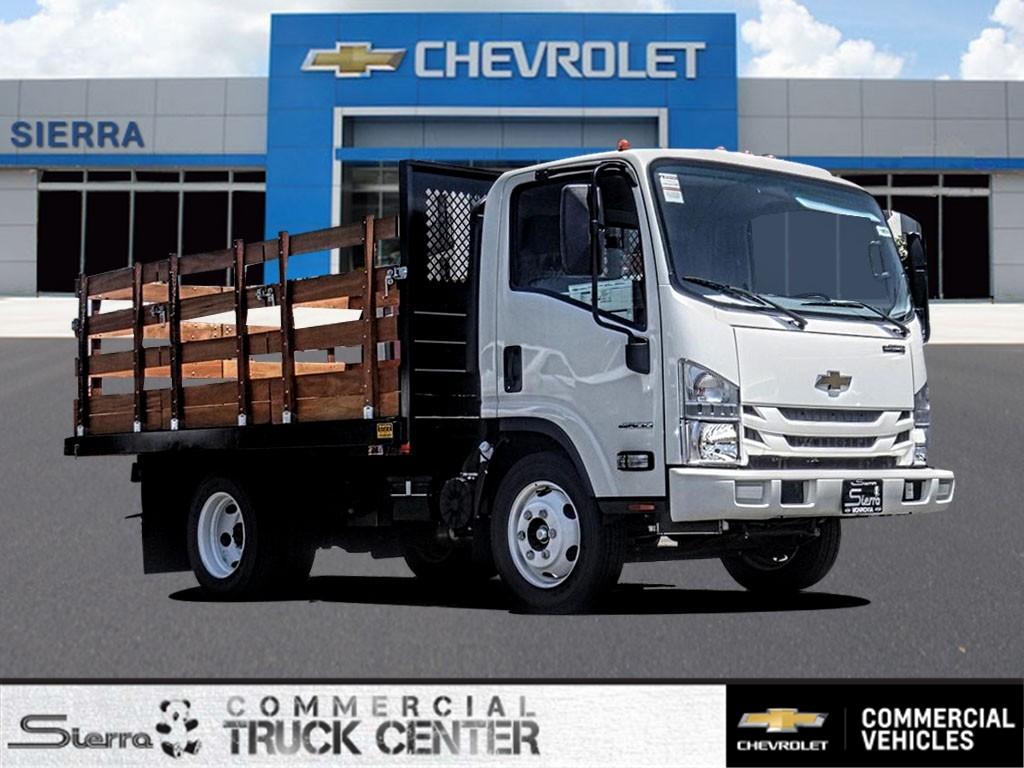 2019 Chevrolet LCF 4500 Regular Cab 4x2, Metro Truck Body Stake Bed #C159855 - photo 1