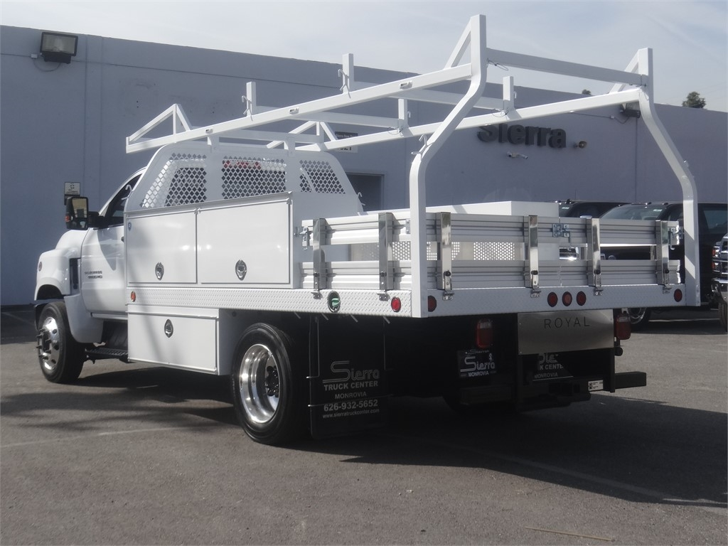 2019 Silverado 5500 Regular Cab DRW 4x2, Royal Contractor Body #C160017 - photo 1