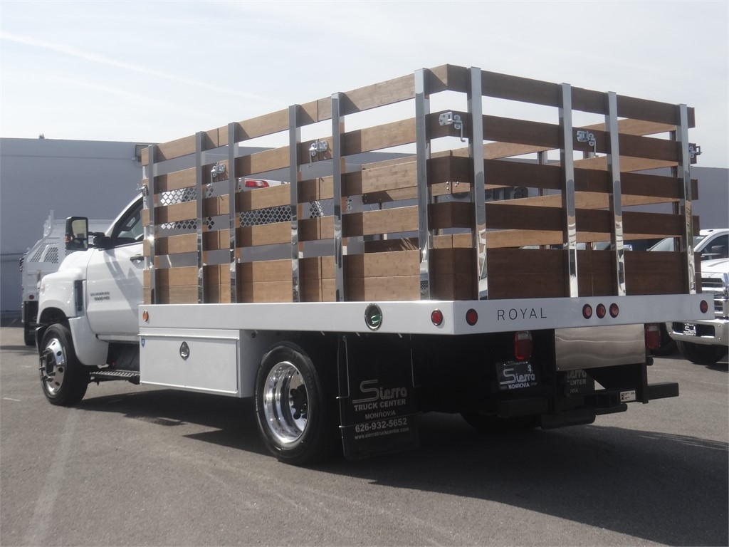 2019 Silverado 5500 Regular Cab DRW 4x2, Royal Stake Bed #C160018 - photo 1