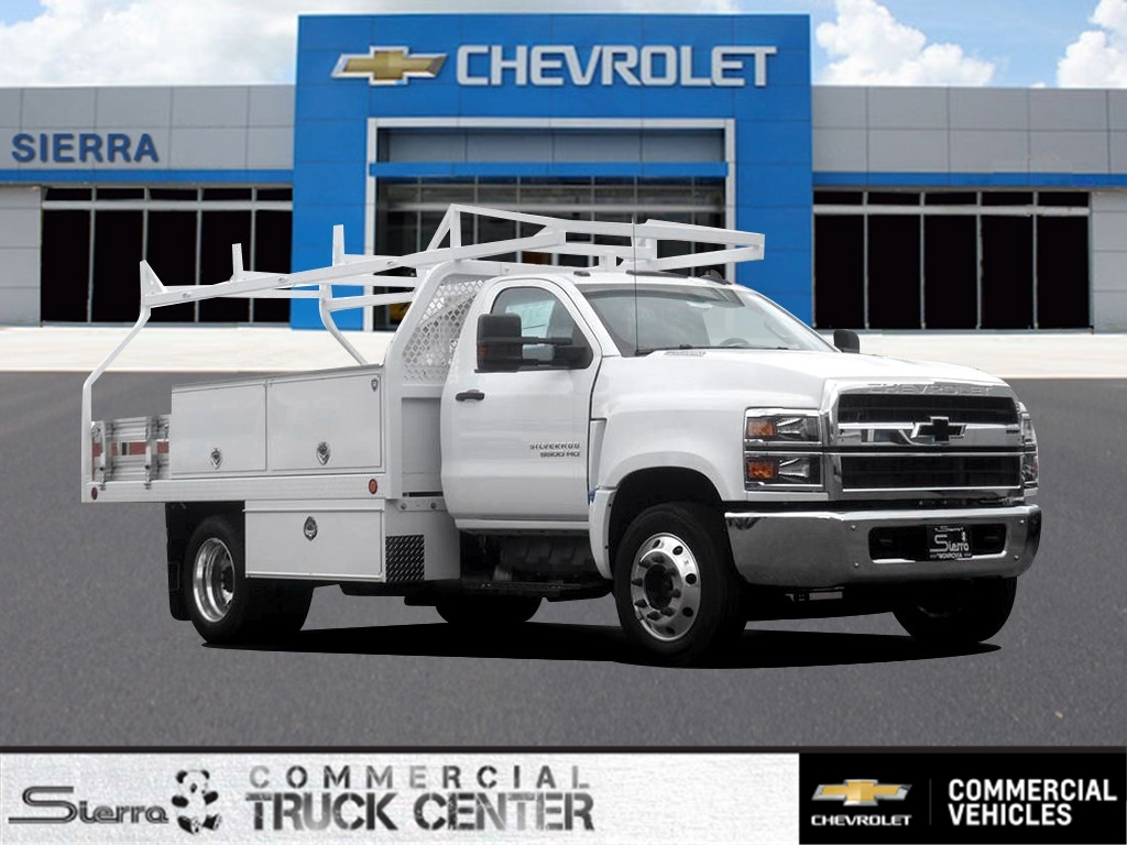 2019 Chevrolet Silverado 5500 Regular Cab DRW 4x2, Royal Contractor Body #C160022 - photo 1