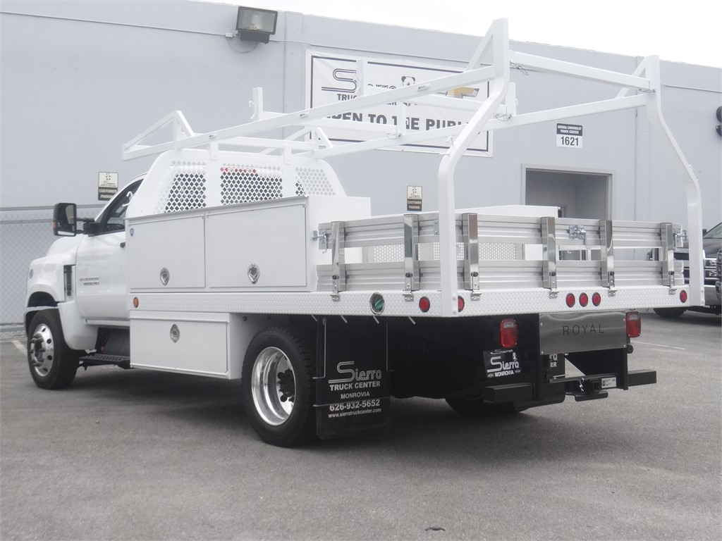 2019 Silverado 5500 Regular Cab DRW 4x2, Royal Contractor Body #C160022 - photo 1