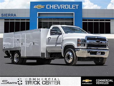 2019 Silverado 5500 Regular Cab DRW 4x2, Royal Service Body Saw Body #C160114 - photo 1