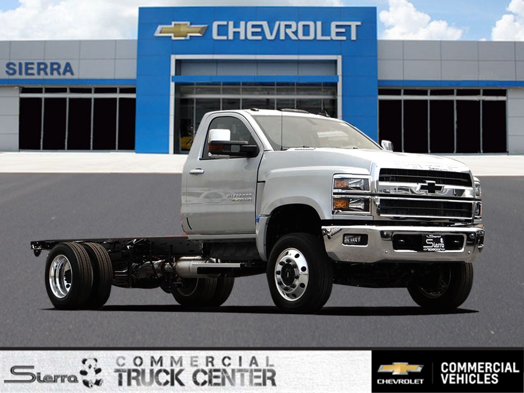 2020 Chevrolet Silverado 4500 Regular Cab DRW 4x4, Cab Chassis #C160299 - photo 1