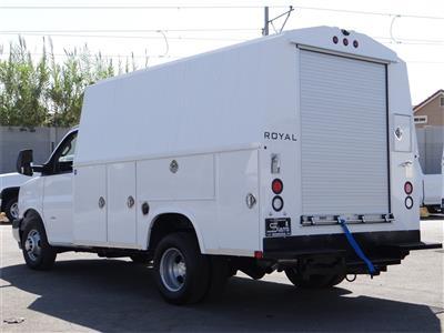 2020 Chevrolet Express 3500 4x2, Royal RSV Service Utility Van #C160337 - photo 2