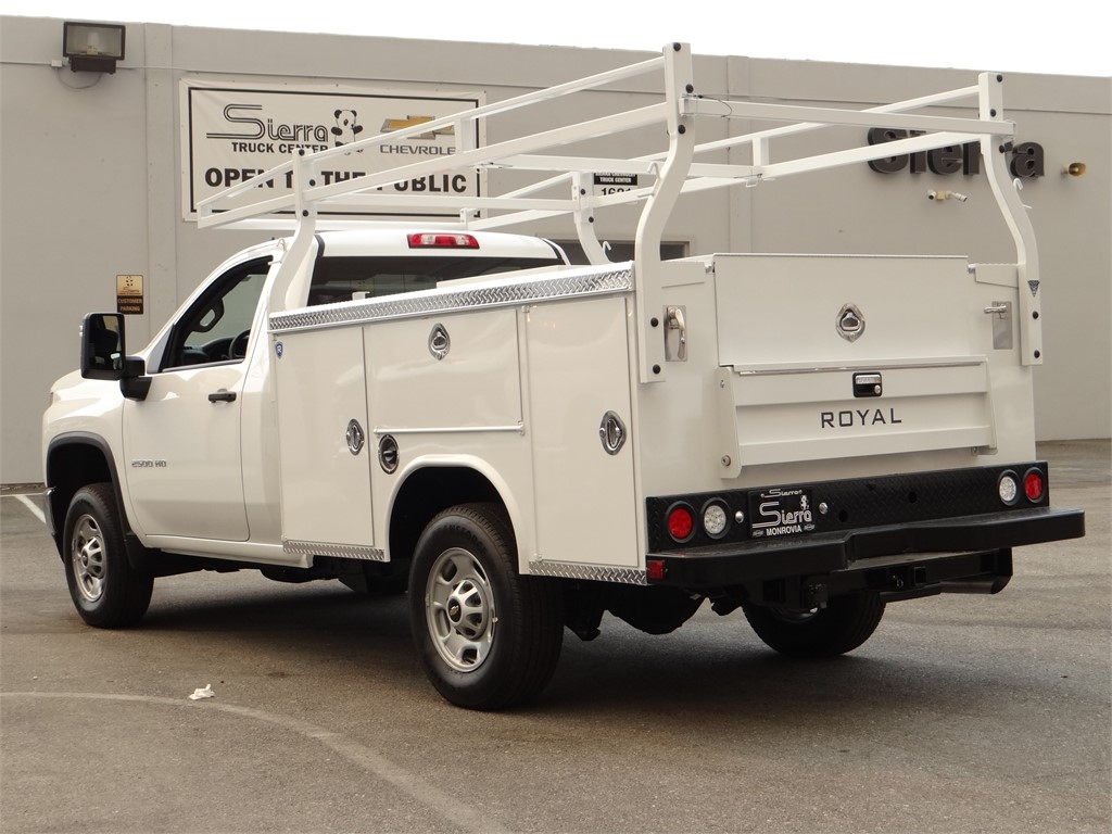 2020 Chevrolet Silverado 2500 Regular Cab 4x2, Royal Service Body #C160338 - photo 2