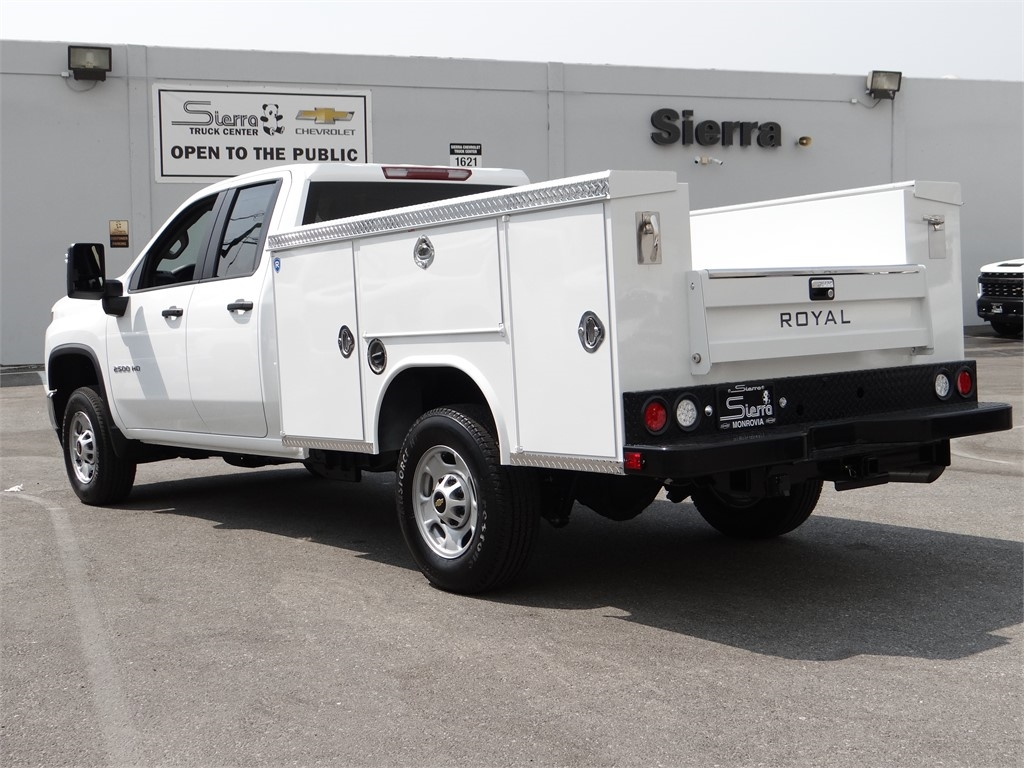 2020 Chevrolet Silverado 2500 Double Cab 4x2, Royal Service Body #C160341 - photo 2