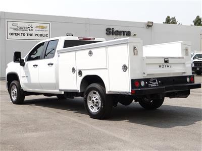 2020 Chevrolet Silverado 2500 Double Cab 4x2, Royal Service Body #C160342 - photo 2