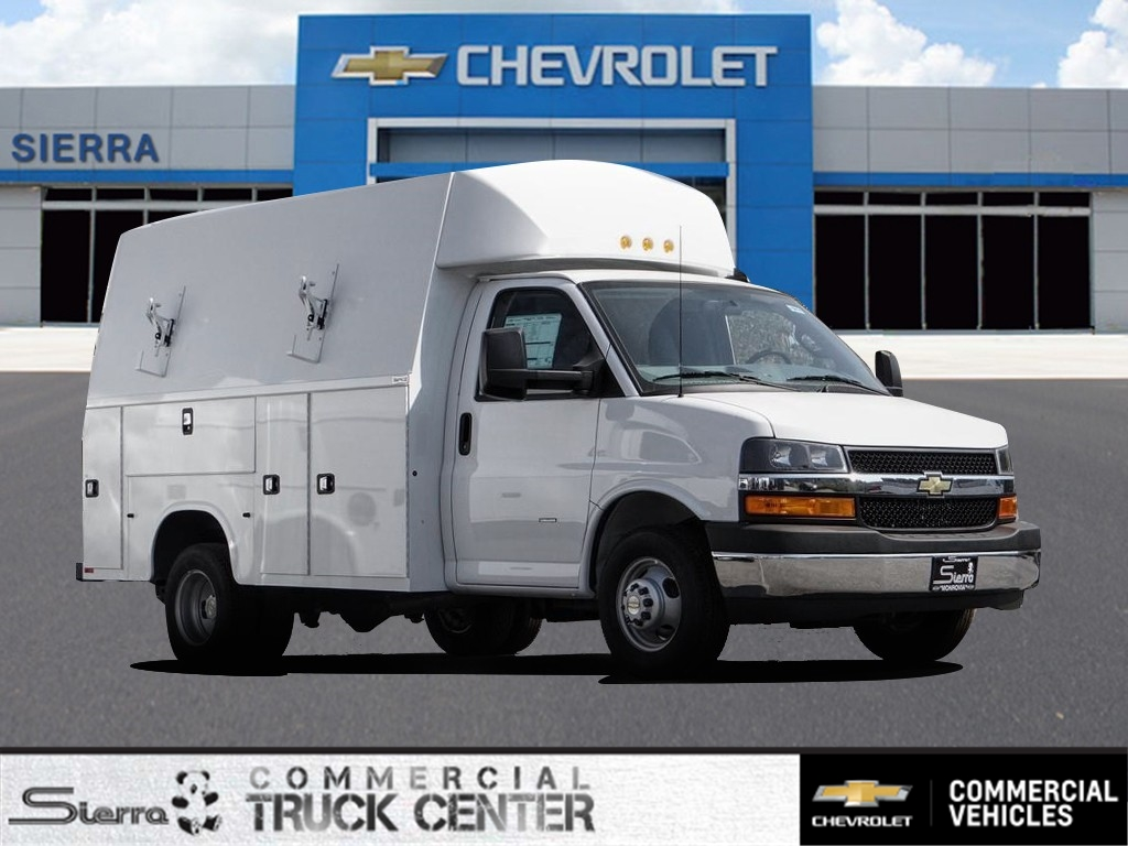 2020 Chevrolet Express 3500 4x2, Knapheide KUV Service Utility Van #C160414 - photo 1