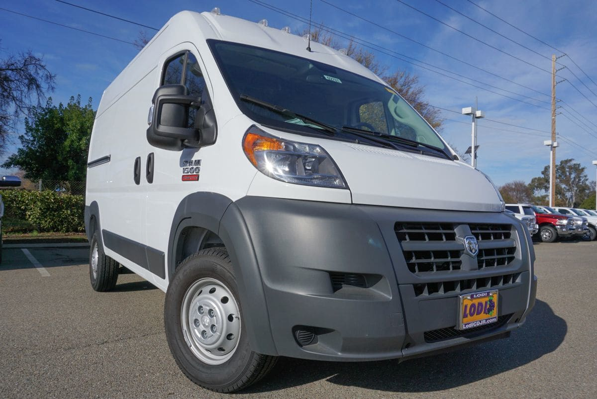 2018 ProMaster 1500 High Roof FWD,  Empty Cargo Van #R02781 - photo 3