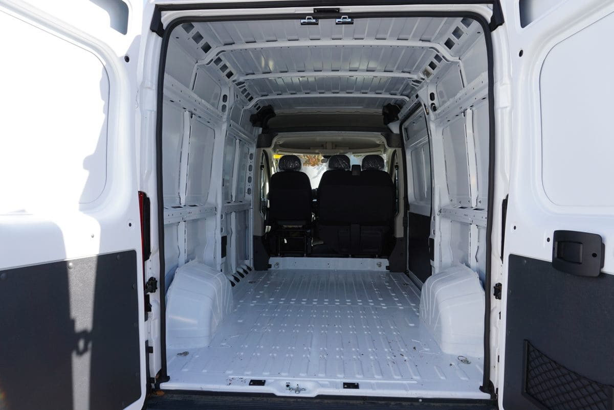 2018 ProMaster 1500 High Roof FWD,  Empty Cargo Van #R02781 - photo 2
