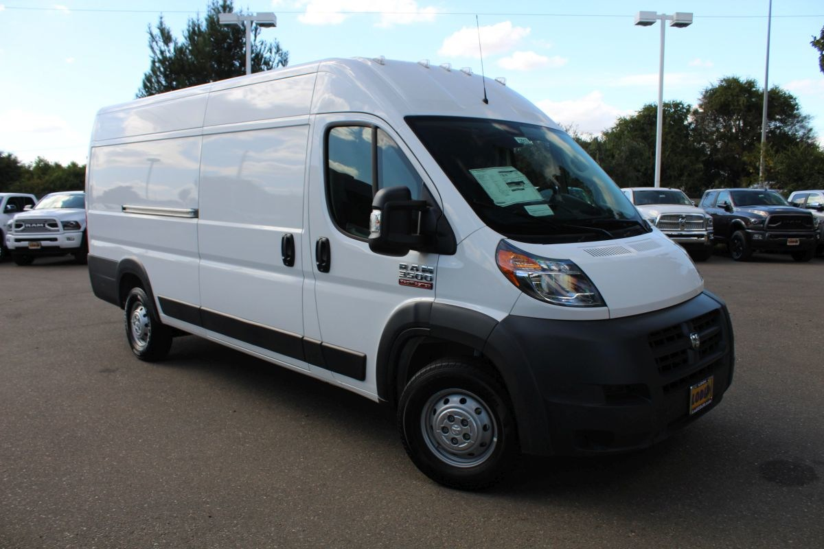 2018 ProMaster 3500 High Roof FWD,  Empty Cargo Van #R02910 - photo 3