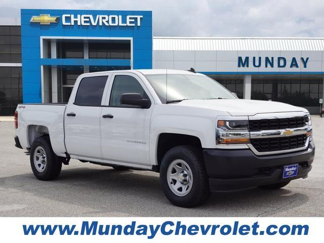 2017 Silverado 1500 Crew Cab 4x4,  Pickup #HG384966 - photo 1