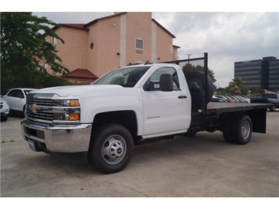 2018 Silverado 3500 Regular Cab DRW 4x2,  Knapheide Platform Body #JF170194 - photo 10