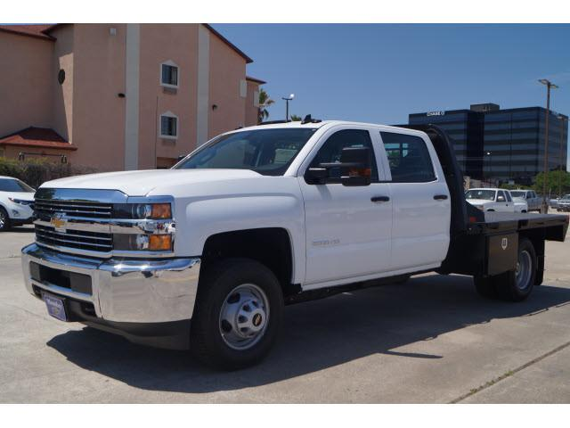 2018 Silverado 3500 Crew Cab DRW 4x2,  CM Truck Beds Platform Body #JF189908 - photo 4
