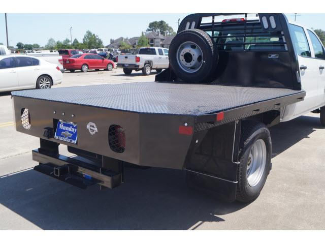 2018 Silverado 3500 Crew Cab DRW 4x2,  CM Truck Beds Platform Body #JF189908 - photo 2