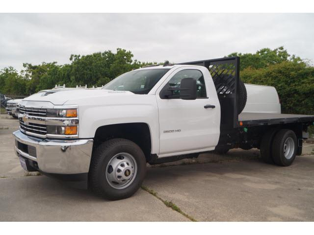 2018 Silverado 3500 Regular Cab DRW 4x2,  Cadet Platform Body #JF194412 - photo 4