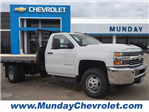 2018 Silverado 3500 Regular Cab DRW 4x2,  Cadet Platform Body #JF194412 - photo 1