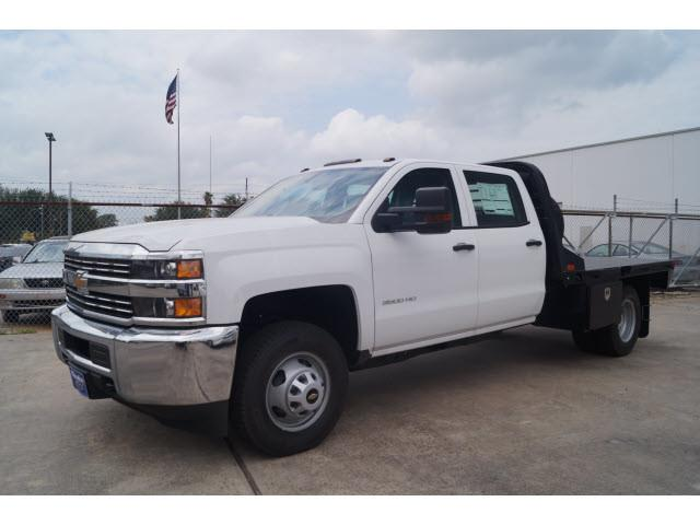2018 Silverado 3500 Crew Cab DRW 4x2,  CM Truck Beds Platform Body #JF212304 - photo 4