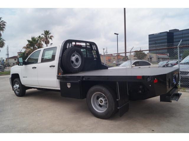 2018 Silverado 3500 Crew Cab DRW 4x2,  CM Truck Beds Platform Body #JF212304 - photo 2