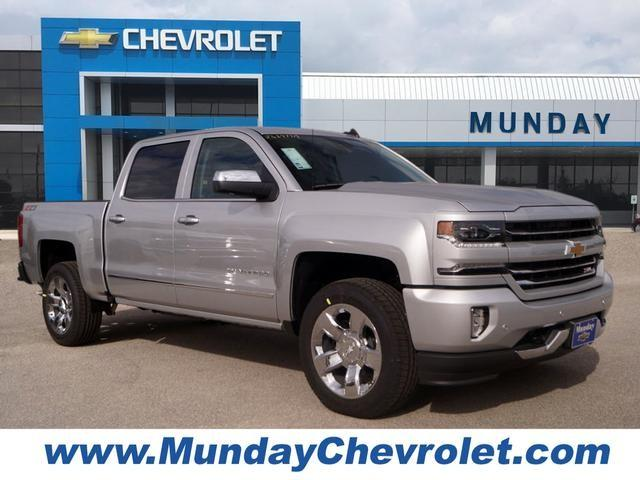 2018 Silverado 1500 Crew Cab 4x4,  Pickup #JG297719 - photo 1